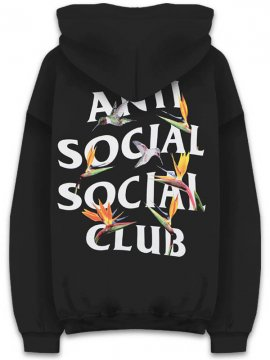 <strong>ANTI SOCIAL SOCIAL CLUB</strong>PAIR OF DICE BLACK SWEAT HOODIE<br>BLACK