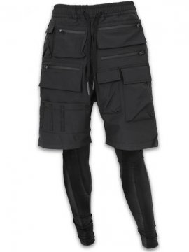 <strong>A.F ARTEFACT</strong>EXCLUSIVE TECH MILITARY LAYER PANTS<br>BLACK