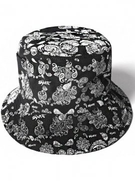<strong>SALUTE</strong>BANDANNA BACKETS HAT<br>BLACK