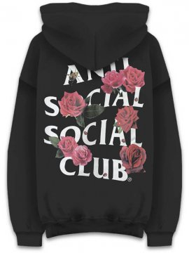 <strong>ANTI SOCIAL SOCIAL CLUB</strong>SMELLS BAD BLACK SWEAT HOODIE<br>BLACK