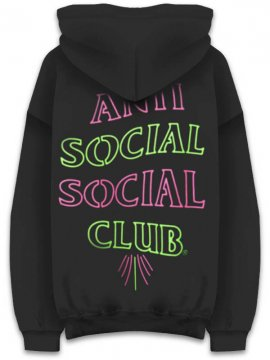 <strong>ANTI SOCIAL SOCIAL CLUB</strong>777 BLACK SWEAT HOODIE<br>BLACK