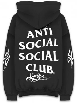 <strong>ANTI SOCIAL SOCIAL CLUB</strong>SUNNY SIDE BLACK SWEAT HOODIE<br>BLACK