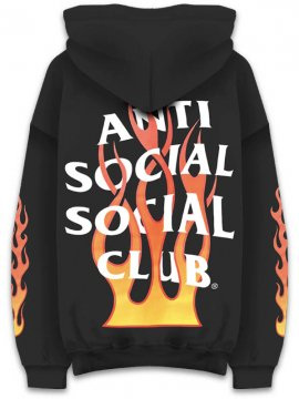 <strong>ANTI SOCIAL SOCIAL CLUB</strong>FIREBIRD BLACK SWEAT HOODIE<br>BLACK
