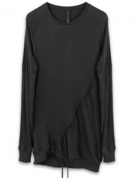 <strong>ARMY OF ME</strong>RIBBED SWEAT SHIRT 19<br>BLACK