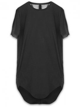 <strong>ARMY OF ME</strong>ROUNDED HEM T-SHIRT 28<br>BLACK