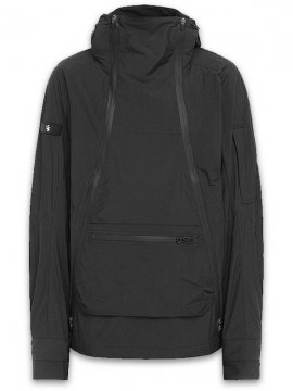 <strong>RIOTDIVISION </strong>DOUBLE ZIP COMBAT ANORAK<br>BLACK