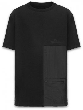 <strong>RIOTDIVISION</strong>PATCHED POCKETS T-SHIRT<br>BLACK