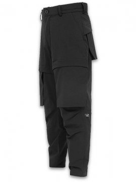 <strong>RIOTDIVISION</strong>PARTICLE PANTS 020<br>BLACK