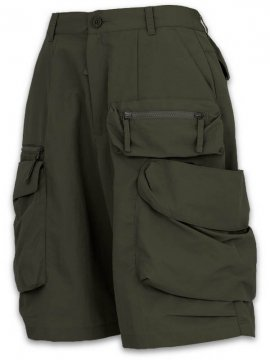 <strong>GOOPiMADE</strong>DP-2 MULTI-POCKET UTILITY SHORTS<br>OLIVE
