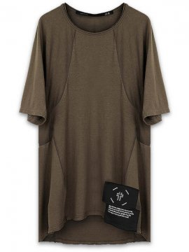 <strong>HAMCUS</strong>PRINTED T-SHIRT<br>MILITARY OLIVE