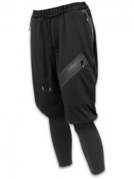 <strong>SIVA</strong>JIP-P LEG WARMER TROUSERS<br>BLACK