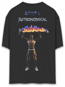 <strong>TRAVIS SCOTT x FORTNITE</strong>ASTRO RAGE T-SHIRT<br>BLACK