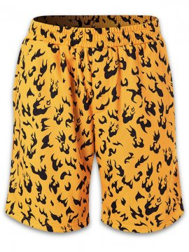 <strong> Durag Dev</strong>MANGA CAMO SHORTS<br>ORANGE