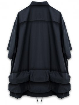"""<strong>GOOPiMADE</strong>""""TS-02"""" FUNCTIONAL M-SHIRT<br>NAVY"""