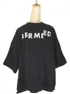 <strong>SIVA</strong>ARMED WIDE SHIRT<br>BLACK
