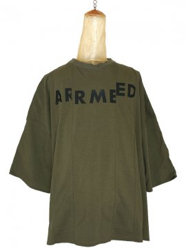 <strong>SIVA</strong>ARMED WIDE SHIRT<br>OLIVE DRAB