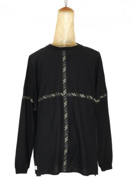 <strong>SIVA</strong>FLATSEAM LINE WIDE L-SLEEVE<br>BLACK