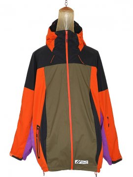 <strong>SIVA</strong>MOUNTAIN BALLOON WIDE JACKET<br>ORANGE x PURPLE
