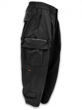 "<strong>GOOPiMADE</strong>""MT-03"" WIDE CARGO PANTS<br>BLACK"