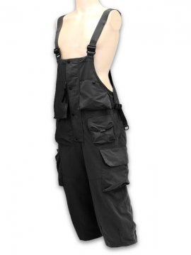 "<strong>GOOPiMADE</strong>""VT-03"" MULTI-POCKET UTILITY DUNGAREES<br>BLACK"