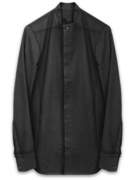 <strong>JOE CHIA</strong>GIRU STRAIGHT BUTTON SHIRT<br>BLACK