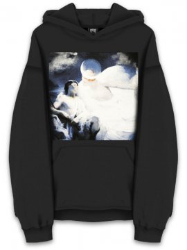 <strong>REVENGE GALLERY</strong>BLACK HEAVENS SWEAT HOODIE<br>BLACK