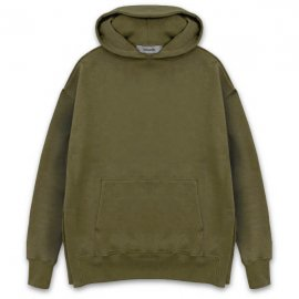 <strong>alchemist ink</strong>OVERSIZED SWEAT HOODIE<br>ARMY