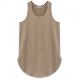 <strong>alchemist ink</strong>SCALLOP TANK-TOP<br>WHEAT