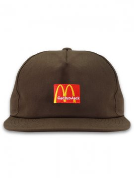 <strong>TRAVIS SCOTT x McDonald's</strong>CJ ARCHES CAP<br>BROWN