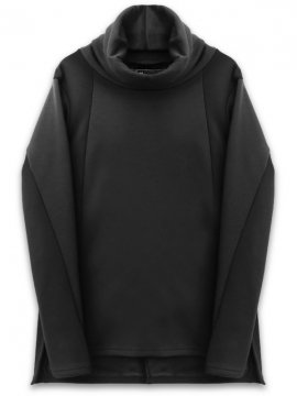 <strong>A.F ARTEFACT</strong>HIGH NECK BOMBER HEAT TOP<br>BLACK