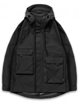 "<strong>GOOPiMADE</strong>""GEOMETRY"" MOUNTAIN PARKA JACKET<br>BLACK"