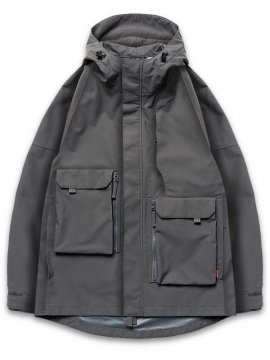 "<strong>GOOPiMADE</strong>""GEOMETRY"" MOUNTAIN PARKA JACKET<br>GRAY"