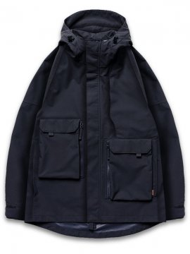 "<strong>GOOPiMADE</strong>""GEOMETRY"" MOUNTAIN PARKA JACKET<br>NAVY"