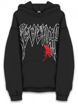 <strong>REVENGE GALLERY</strong>SPIDER SWEAT HOODIE<br>BLACK