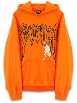 <strong>REVENGE GALLERY</strong>SPIDER SWEAT HOODIE<br>ORANGE