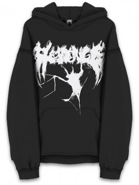 <strong>REVENGE GALLERY</strong>BAT SWEAT HOODIE<br>BLACK