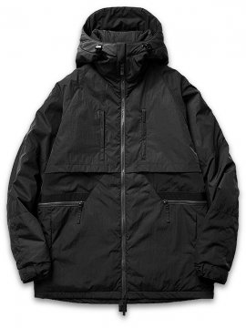 "<strong>GOOPiMADE</strong>3M Thinsulate ""FOGGY"" PARKA PUFFER JACKET<br>BLACK"