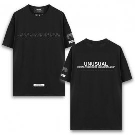 <strong>UNUSUAL</strong>HIT AND KICK Ver.1 T-SHIRT<br>BLACK