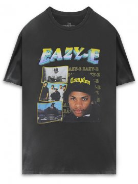 <strong>THE INSPIREDSTUDIO</strong>EAZY-E T-SHIRT<br>WASHED BLACK