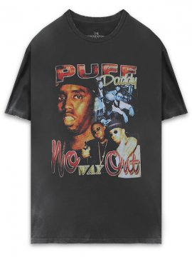 <strong>THE INSPIREDSTUDIO</strong>PUFF DADDY / No Way Out T-SHIRT<br>WASHED BLACK