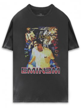 <strong>THE INSPIREDSTUDIO</strong>EMINEM / The Real Slim Shady T-SHIRT<br>WASHED BLACK