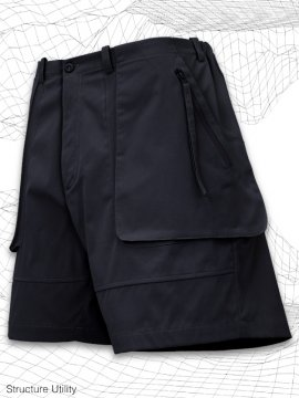 <strong>SIMPLE DESIGN</strong>STRUCTURE UTILITY SHORTS<br>NAVY