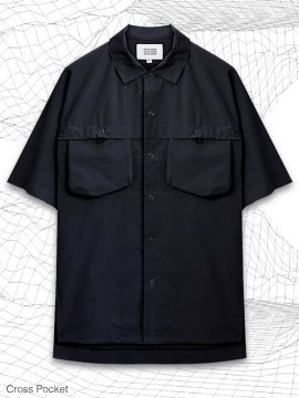 <strong>MELSIGN®</strong>CROSS POCKET SHIRTS<br>NAVY