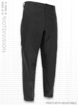 <strong>RIOTDIVISION</strong>PANTS WITH ADJUSTABLE WIDTH<br>BLACK