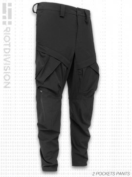 <strong>RIOTDIVISION</strong>2 POCKETS PANTS<br>BLACK