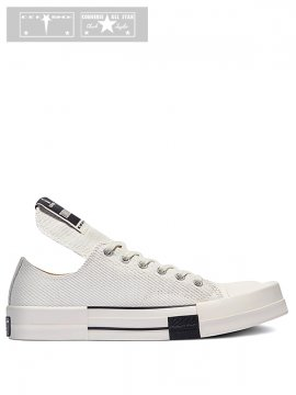 <strong>Rick Owens DRKSHDW x CONVERSE</strong>TURBODRK CHUCK 70 OX LOW<br>LILY WHITE【Limited Price】
