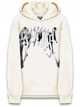 <strong>REVENGE GALLERY</strong>BULLET CREAM SWEAT HOODIE<br>CREAM