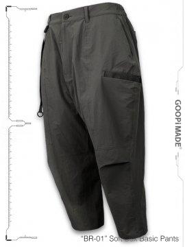 "<strong>GOOPiMADE</strong>""BR-01"" Soft Box Basic Pants<br>G-GRAY"