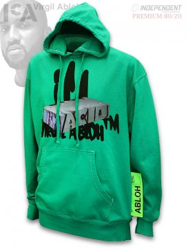 <strong>ICA x Virgil Abloh</strong>Virgil Abloh ICA Graffiti Hoodie<br>GREEN DYED