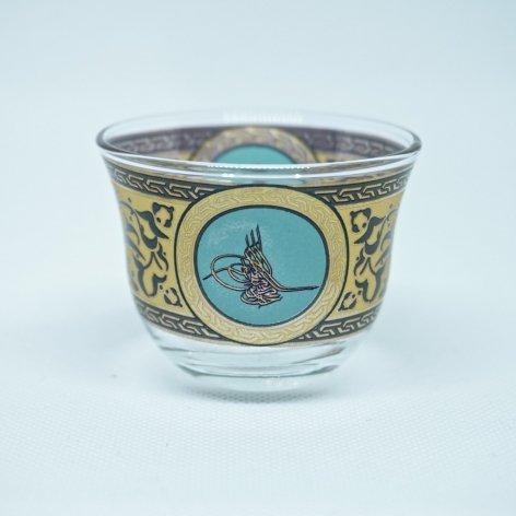 おちょこ・ショットグラス<br>オスマン皇帝スルタンの花押